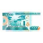 1988 - Perú P140 billete de 10.000 Intis