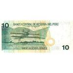 2005 - Peru P179a 10 Nuevos Soles  banknote