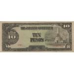 1943 - Filipinas P111 billete de 10 Pesos