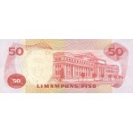 1970 - Filipinas P151 billete de 50 Piso