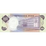 1970 - Filipinas P157b billete de 100 Piso