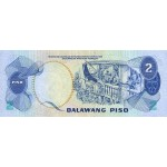 1978 - Philippines P159c   2 Piso banknote