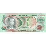 1978 - Philippines P160d   5 Piso banknote