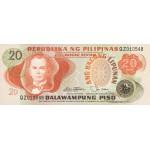 1978 - Philippines P162b   20 Piso banknote