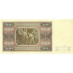 1948 - Poland PIC 140     500 Zlotych banknote
