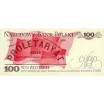 1986 - Poland PIC 143e       100 Zlotych banknote