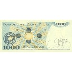 1982 - Poland PIC 146c       1.000 Zlotych banknote