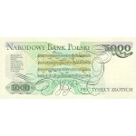 1982 - Poland PIC 150a       5.000 Zlotych banknote