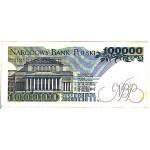 1990 - Poland PIC 154      100.000  VF   Zlotych banknote