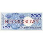 1990 - Poland PIC 171      200 Zlotych banknote