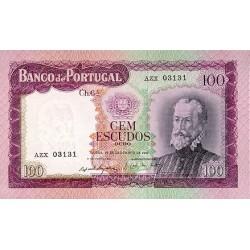 1961 - Portugal  Pic 165           100 Escudos VF  banknote