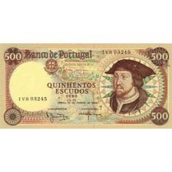 1979 - Portugal  Pic 170 b           500 Escudos   banknote