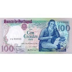 1981 - Portugal  Pic 178b           100 Escudos   banknote