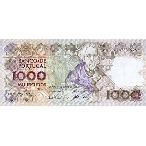 1993 - Portugal  Pic 181j         1.000 Escudos   banknote