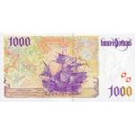 1988 - Portugal  Pic 188b        1.000 Escudos  VF banknote