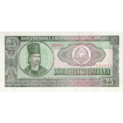 1966 - Romania   Pic  95            25 Lei banknote