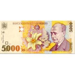 1998 - Romania   Pic  107          5.000 Lei banknote