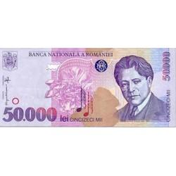 2000 - Romania   Pic  109 A         50.000 Lei banknote