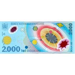 1999 - Romania   Pic  111a          2.000 Lei plastic banknote