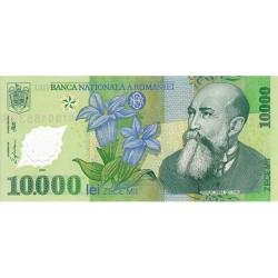 2000 - Romania   Pic  112       10.000 Lei plastic banknote