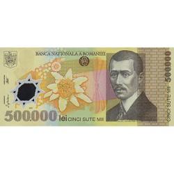 2000 - Romania   Pic  115      500.000 Lei plastic banknote