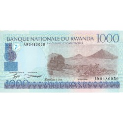 1998 - Rwanda PIC 27   1000 Francs banknote