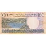 2003 - Rwanda PIC 29a   100 Francs banknote
