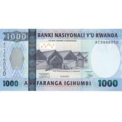 2004 - Rwanda PIC 31   1000 Francs banknote