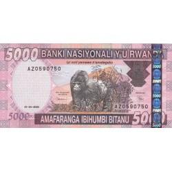 2004 - Rwanda PIC 33   5000 Francs banknote