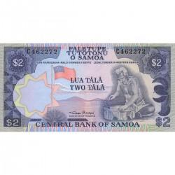 1985 - Western Samoa P25 2 Tala banknote