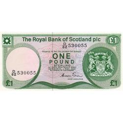 1986 -  Scotland PIC 341A   1 Pound  banknote