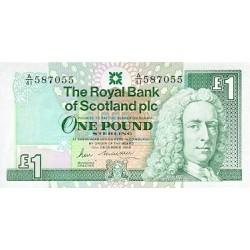 1999 -  Scotland PIC 351d     1 Pound  banknote