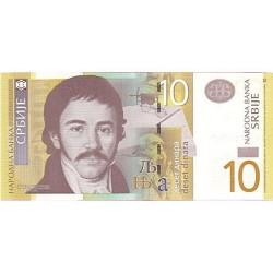 2006 - Serbia   Pic 46a       10 Dinara  Banknote