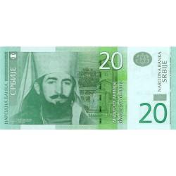 2006 - Serbia   Pic 47       20 Dinara  Banknote