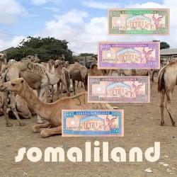 Serie 05 - Somaliland 4 Banknotes
