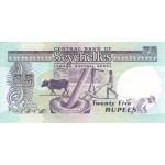 1989 - Seychelles pic 33 billete de 25 Rupias
