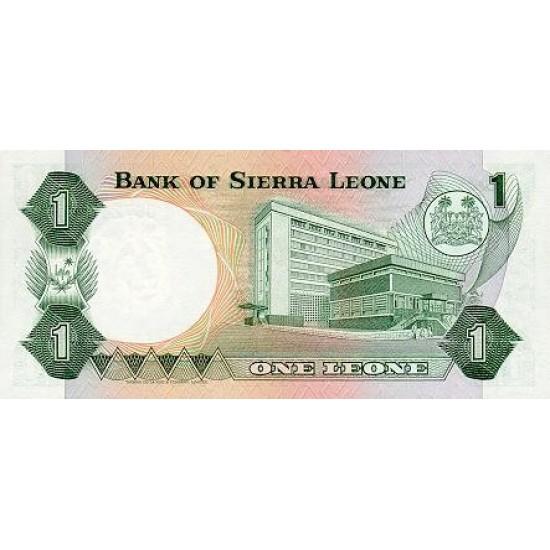 1984 - Sierra Leone Pic  5e   1 Leone banknote