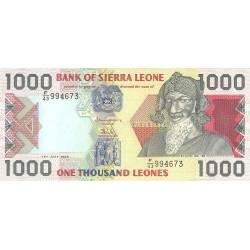 2002 - Sierra Leone Pic  24a  500 Leones banknote  ( Marz)