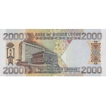2003 - Sierra Leone Pic  26b  2000 Leones banknote