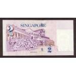 1999 - Singapor  Pic  38      2 Dollars Banknote