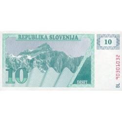 1990 - Slovenia  Pic  4          10 Tolars banknote