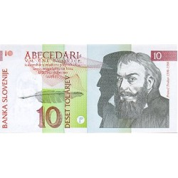 1992 - Slovenia  Pic  11         10 Tolars banknote