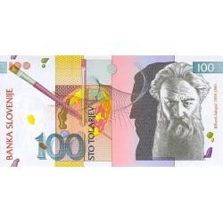 1992 - Slovenia  Pic  14         100 Tolars banknote