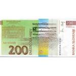 1992 - Slovenia  Pic  15         200 Tolarjev  banknote