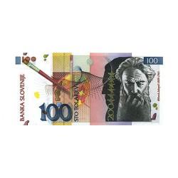 1992 - Slovenia  Pic  28         100 Tolarjev  banknote