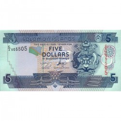 2006 - Solomon Islands P26 5 Dollars banknote