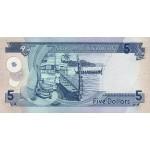2006 - Solomon Islands P26 5 Dollars banknote