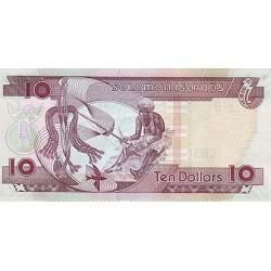 2009 - Solomon Islands P27b 10 Dollars banknote