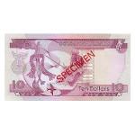 1979 - Solomon Islands  Pic CS 7b          10 Dollars banknote