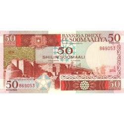 1987 - Somalia  Pic  34b       50 Shillings banknote